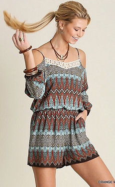 Emilee Cold Shoulder Romper