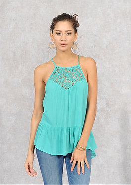 Lace Front Detail Cami