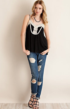 First Comes Lace Swing Tank