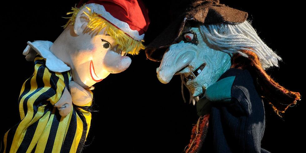Adrien Mengers Kindertheater Papiermond spielt: Kasperle & die drei leuchtenden Steine!