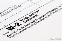 Simple Tax Return W-2