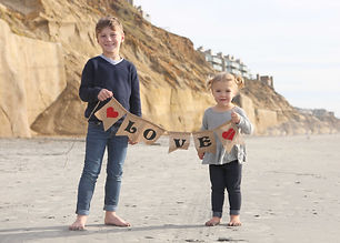 2/6 Valentine's Mini-Session- Solana Beach Fletcher Cove
