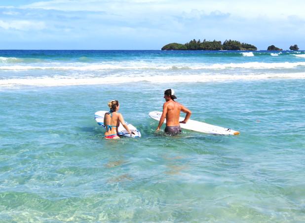Surfing Bocas del Toro