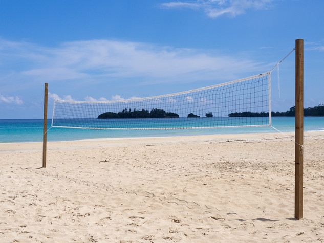 Volleyball on Red Frog Beach
