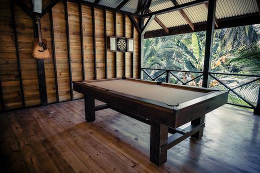 Pool table at Palmar Beach Lodge