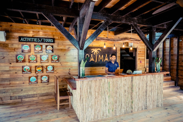 Reception at Palmar Beach Lodge