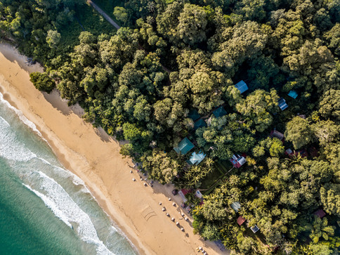 Red Frog Beach Aerial