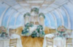 эскиз декора свадьбы москва