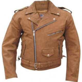Brown Men's Leather Jacket