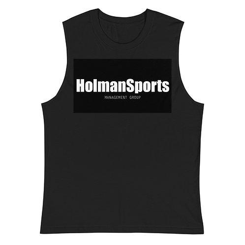 Holman Sports - Black Muscle Shirt