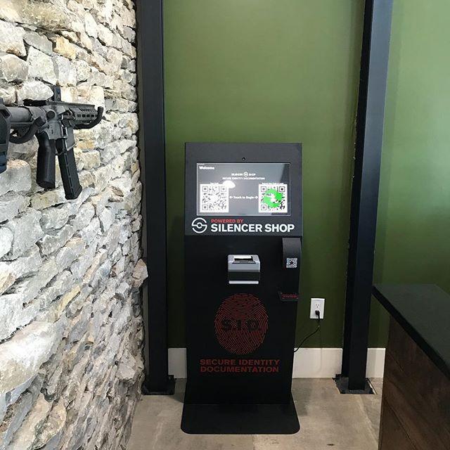 Silencer Shop Kiosk