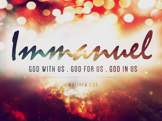 Immanuel – God is with Us!