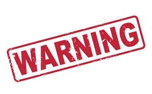 Warning Signs!