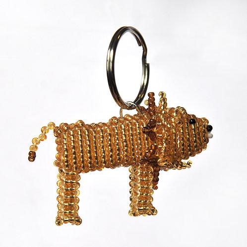 肯亞動物匙扣 (獅子) Kenyan Animal Key Ring (Lion)