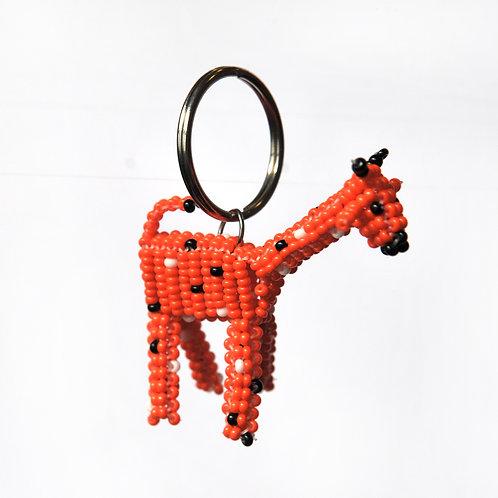 肯亞動物匙扣 (長頸鹿) Kenyan Animal Key Ring (Giraffe)