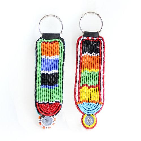 Maasai  耳垂裝飾匙扣(大) Maasai  Ear Decoration Key Chain (L)
