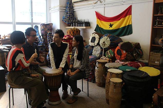 OULAMII SOOJ, African Drum, African Dance, 非洲鼓, 非洲舞, 馬路的事, CR, 商台,