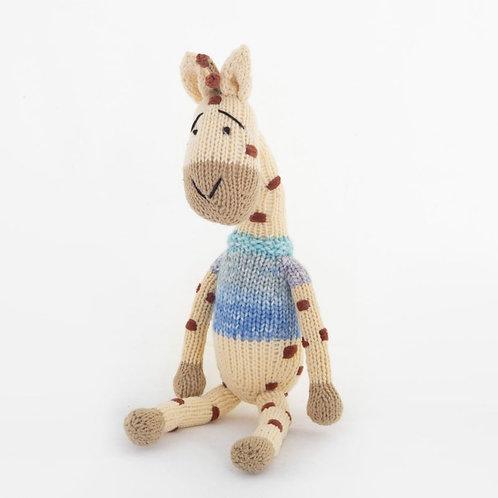 津巴布韋針織公仔 (長頸鹿) Zimbabwean Knitted Toy (Giraffe)