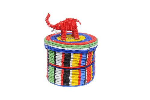 肯亞彩珠動物盒 (大) Kenyan Animal Box (Wide)