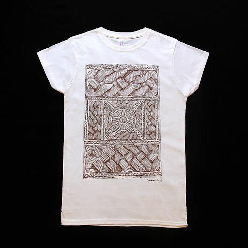 自家設計Tee-Shirt-木紋雕刻