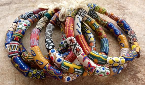 加納玻璃珠 Ghanaian Glass Beads