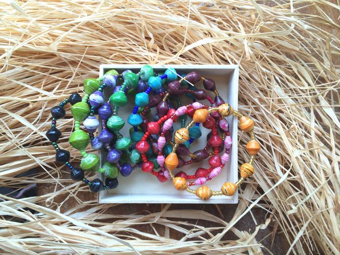 烏干達紙珠 Uganda Paper Beads