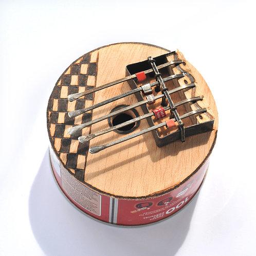 環保姆指鋼琴(圓形/橢圓形) Recycled Kalimba Can(Round/Oval)