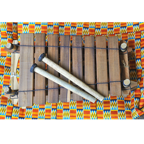 木片琴連袋及鼓槌 (一對)  Xylophone (with bag & mallets)