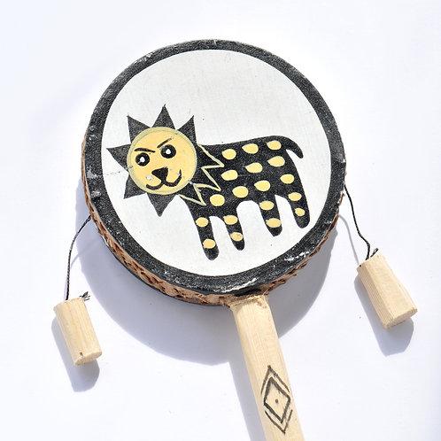 """4"""" 手繪搖鼓 Hand Painted Spin Drum (S)"""