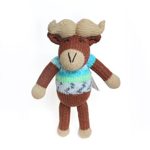 津巴布韋針織公仔 (水牛) Zimbabwean Knitted Toy (Buffalo)