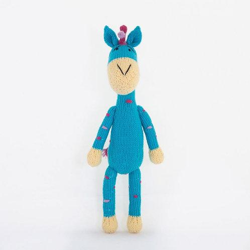津巴布韋針織公仔 (彩色長頸鹿) Zimbabwean Knitted Toy (Coloured Giraffe)