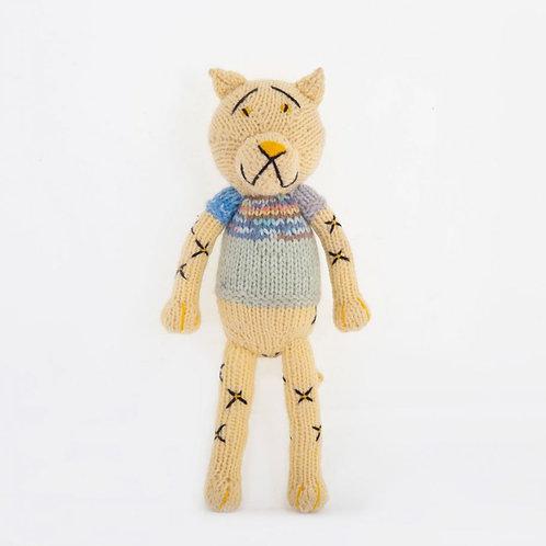 津巴布韋針織公仔 (小豹) Zimbabwean Knitted Toy (Leopard)