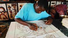西非蠟染 Wax print