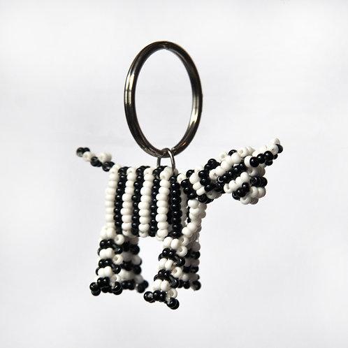 肯亞動物匙扣 (斑馬) Kenyan Animal Key Ring (Zebra)