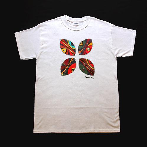 自家設計Tee-Shirt -傳統舞蹈盾牌