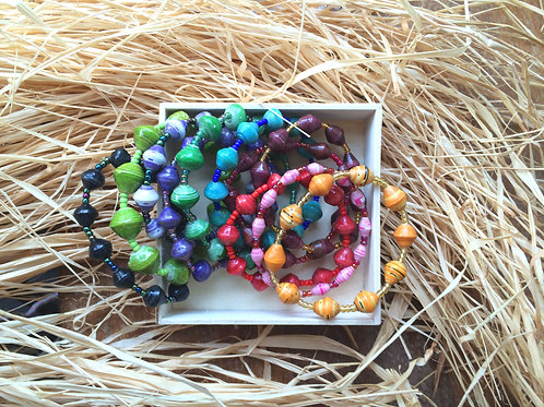 紙珠手鏈Paper bead_Bracelet
