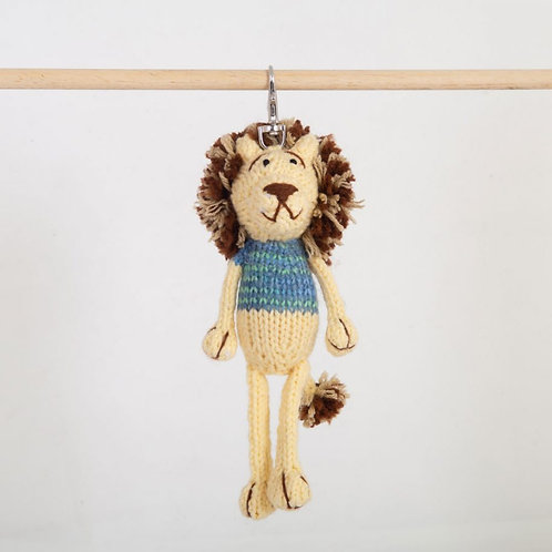 津巴布韋針織匙扣 (獅子) Zimbabwean Knitted Key Ring (Lion)