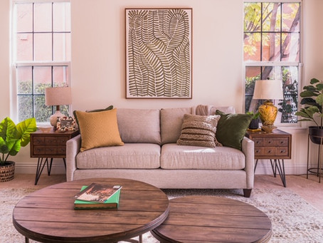 Greco Green Living Room