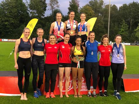 Aline Kämpf erkämpft sich die bronzene Auszeichnung an der U23 Mehrkampf-Meisterschaften
