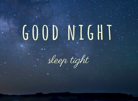 Sleep - Are you having a good quality night's sleep?
