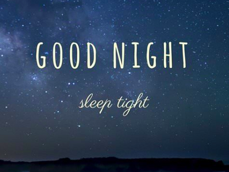 Sleep - Are you having a good quality night's sleep?