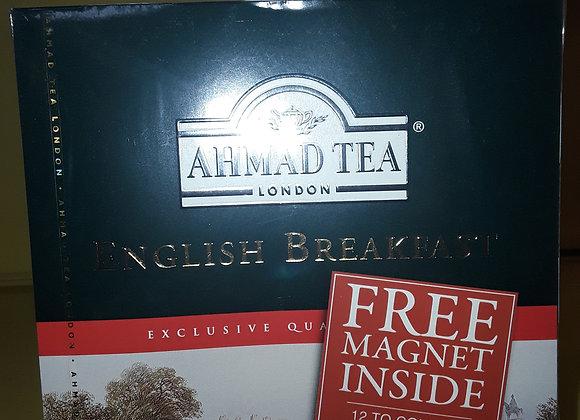 Ahmad Tea English Breakfast Te, Brev 100x2g