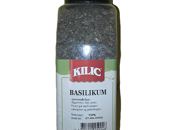 Kilic Basilikum, Plastbøtte 250g pr stk