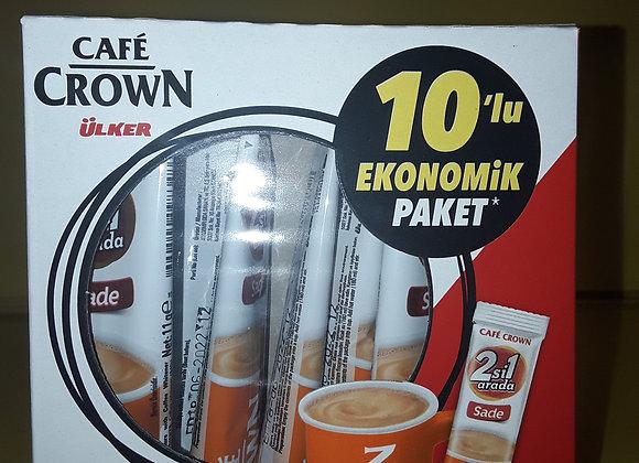 Ulker Crown, Kaffe, 2-1 Coffe and creamer Multipak 10x11g
