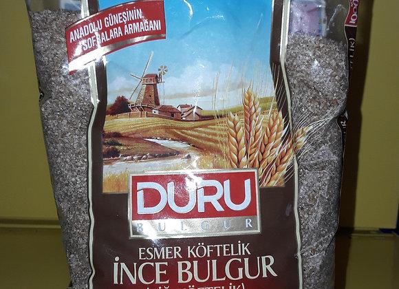 Duru Bulgur, Ekstra Fin, Mørk 1kg