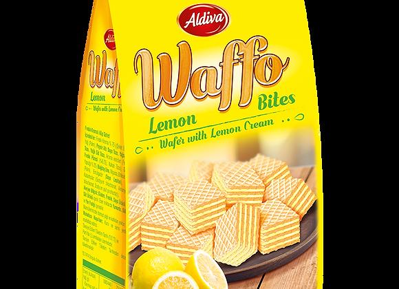 Aldiva Waffo Bites Cube Vafler Med Citron Kream 200g