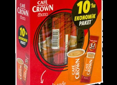 Ulker Crown, Kaffe, 3-I-1, Klassik Multipak 10x18g