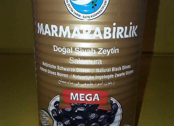 Marmarabirlik Oliven, Mega XL, I Dåse 800g