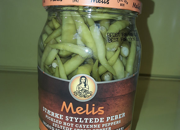 Melis Syltede Stærk Peber, Sus 720ml