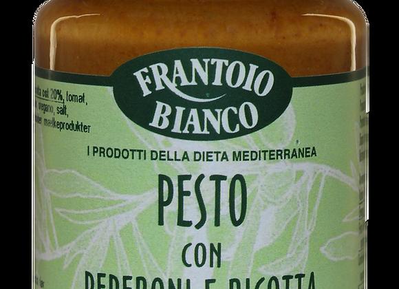 FRANTOIO BIANCO PESTO ROSSO PEBERFRUGT/RICOTTA, 12X90 G